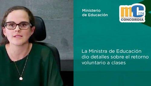 En retorno a las aulas, instituciones educativas no podrán obligar el uso de uniformes, ni textos escolares adicionales
