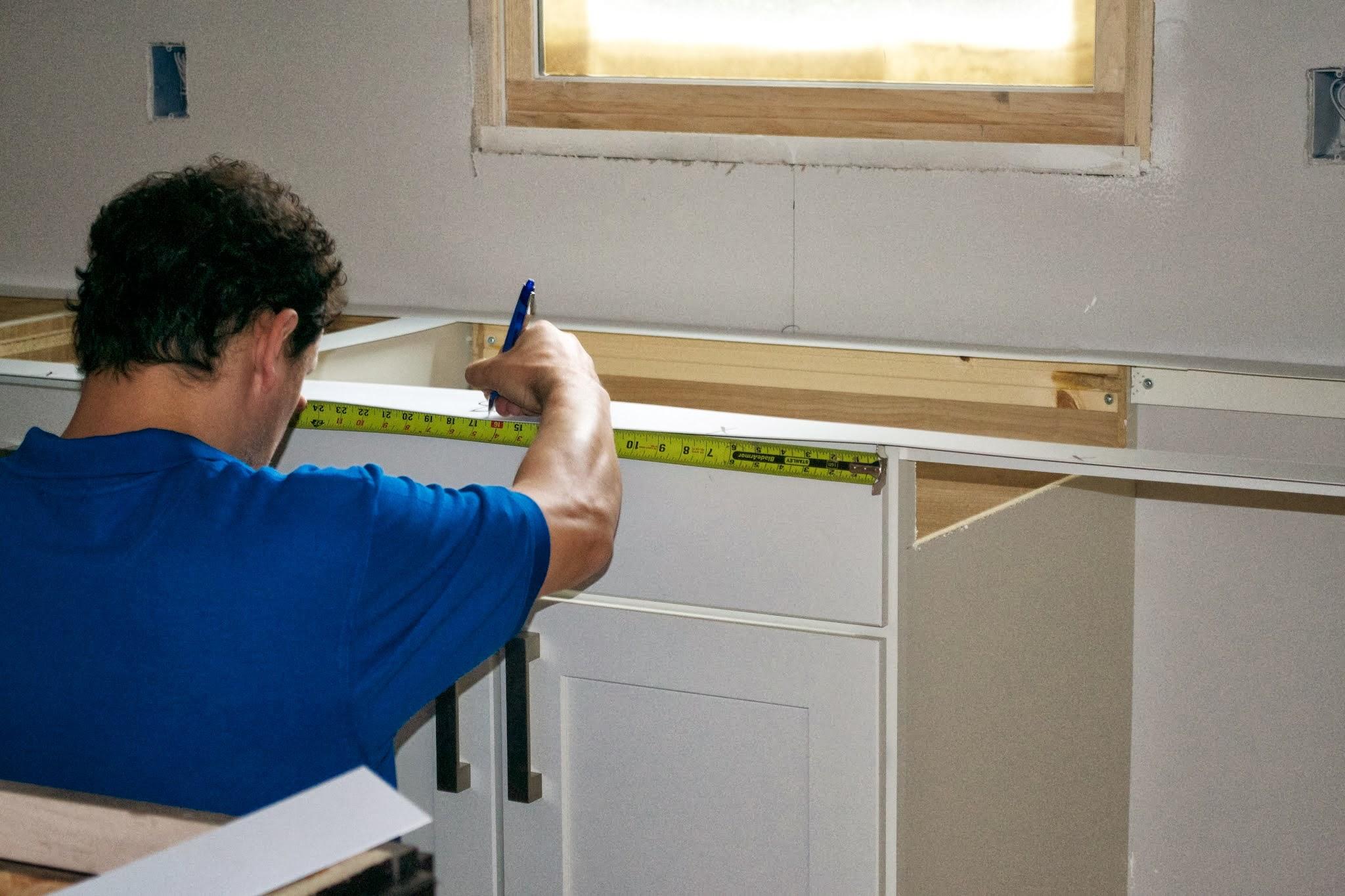 Crear plantillas para las cubiertas de cocina  Constru