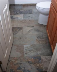 Floor tile debate: stone vs. porcelain