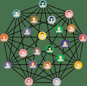 Red de contactos profesionales