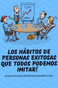Hábitos de las personas exitosas