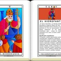 Cartas de Tarot / El Hierofante