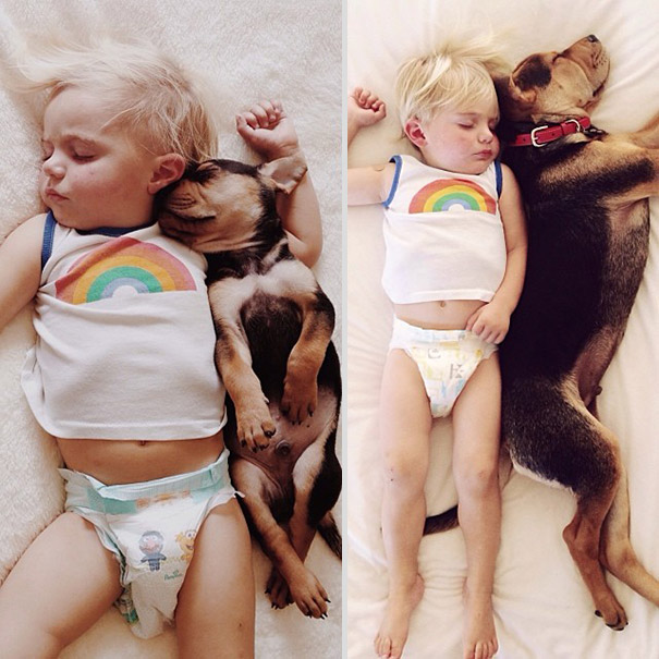 Theo-Beau-toddler-naps-with-puppy-theo-and-beau-2-1