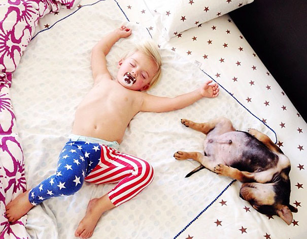 Theo-Beau-toddler-naps-with-puppy-theo-and-beau-9