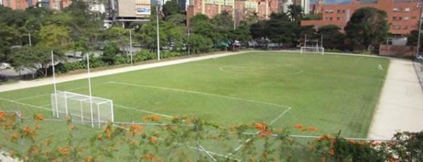 Campo de futbol EAFIT