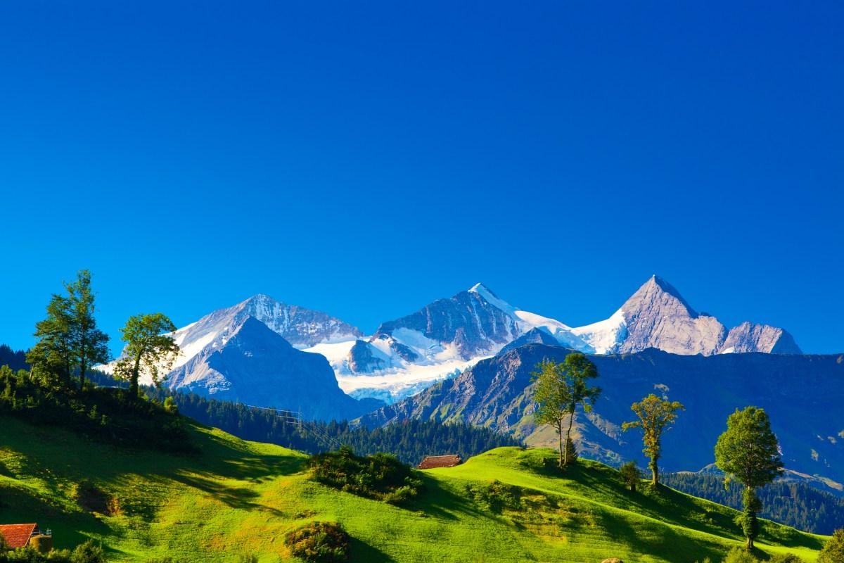 Suiza: Los Alpes