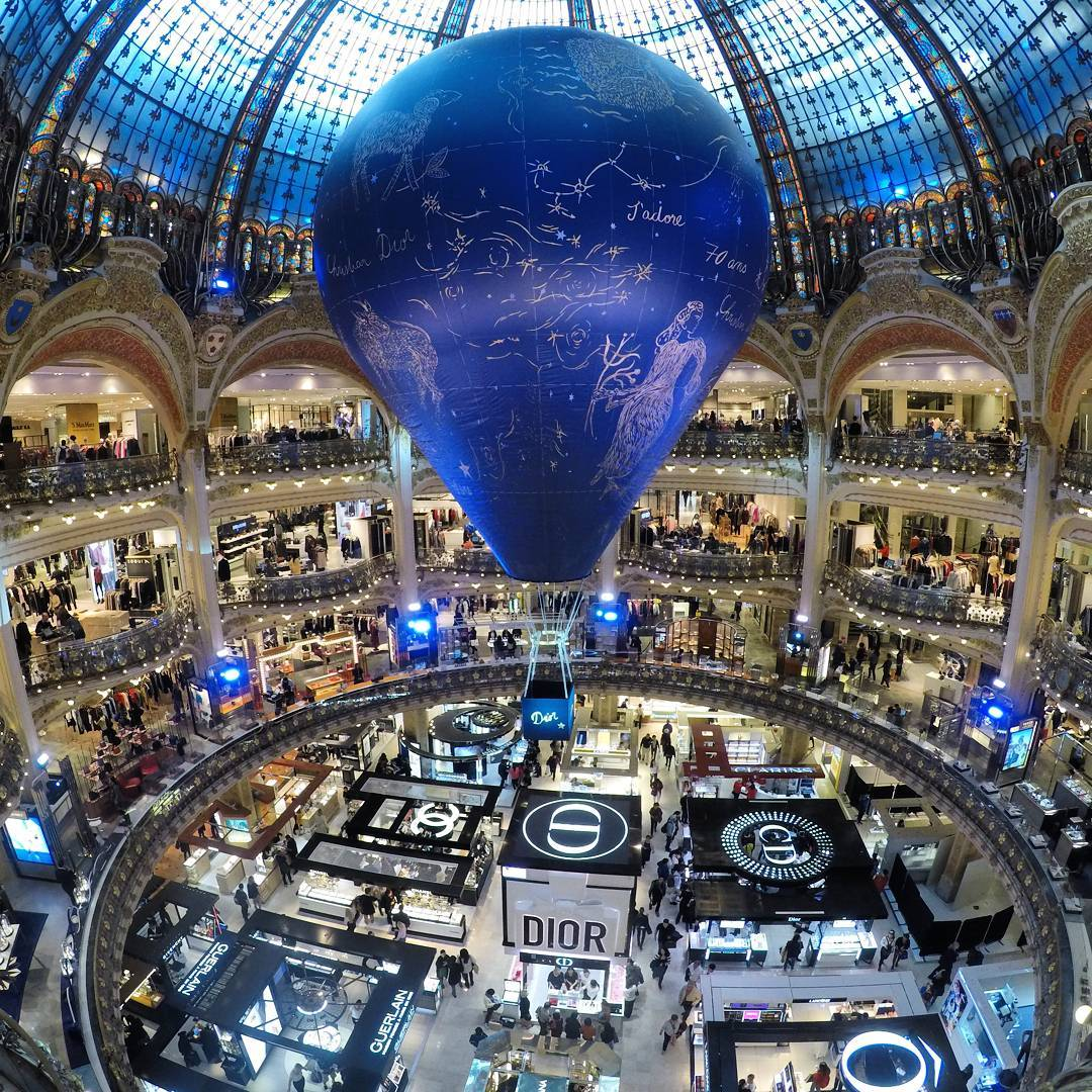 París: Galeries Lafayette