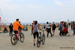 Platja Bogatell Bicicletas2