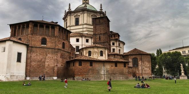 Milán: Basílica de San Lorenzo Maggiore