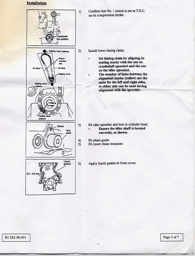hight resolution of nissan official timing chain diagnosis and replacement procedure cisco s micra files