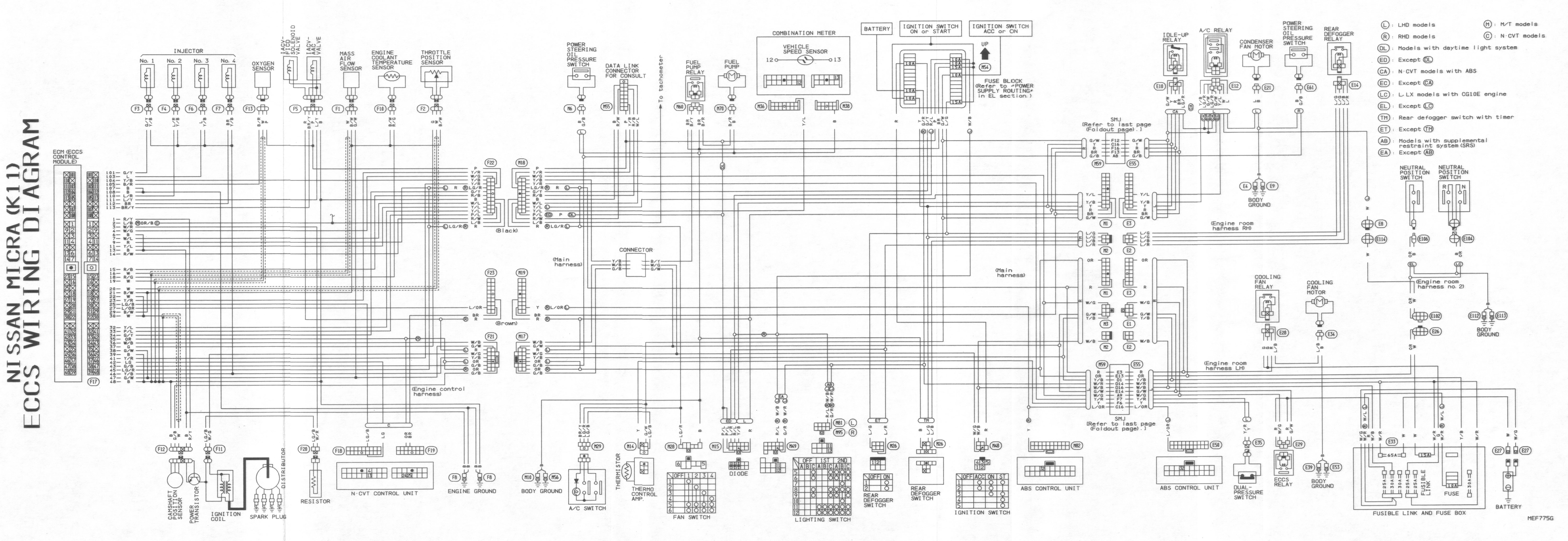 [DIAGRAM] Nissan K11 Wiring Diagram FULL Version HD