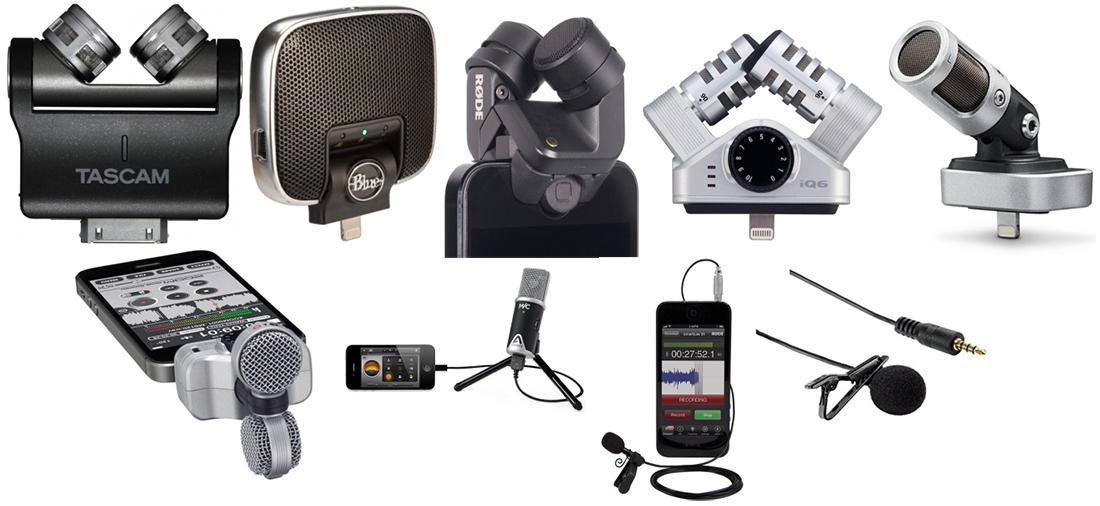 Powering microphones and mixers