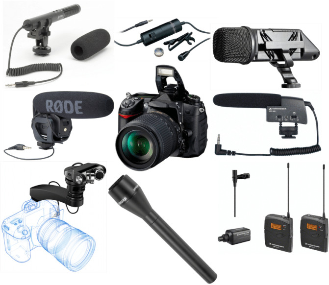 We review the best mics for DSLR video cameras