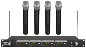 If you wanted 4 mic units, this is one to check out