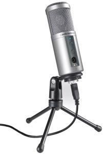 Audio-Technica's high quality USB mic under 100 bucks