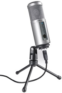 Audio-Technica's high quality USB mic under 100 bucks