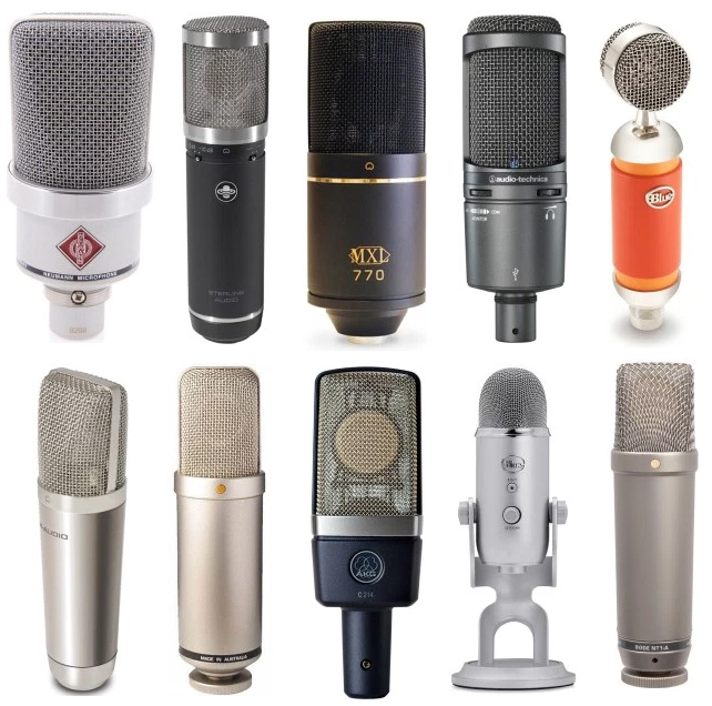 We review the best condenser microphones for the money