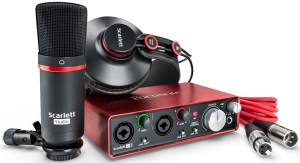 More than just a microphone for voice overs here if you need extra gear