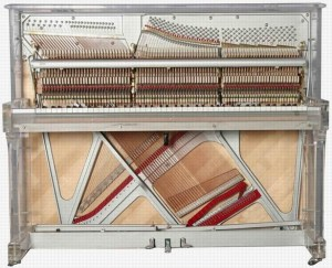 It's important to understand an upright piano's construction when miking it