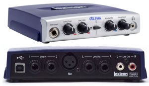 Lexicon Alpha Audio Interface Review