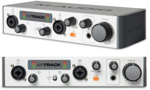 M-Audio M-Track II Audio Interface Review