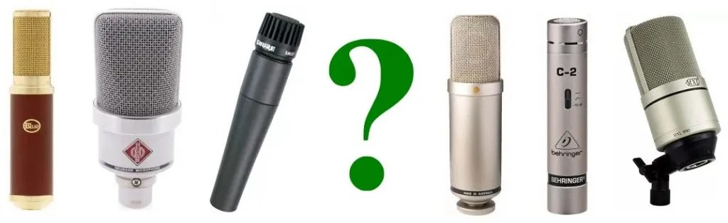 We explain the different mic types in this guide
