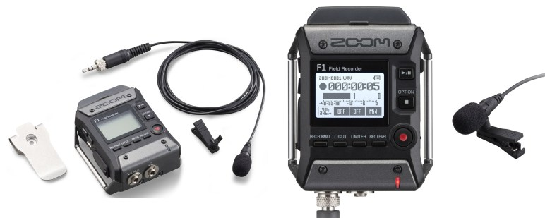 We review the new Zoom F1-LP that includes both a great recorder and lavalier mic