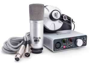 The best microphone package again by Focusrite