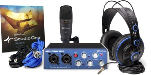 Another great microphone bundle, especially if you need some software