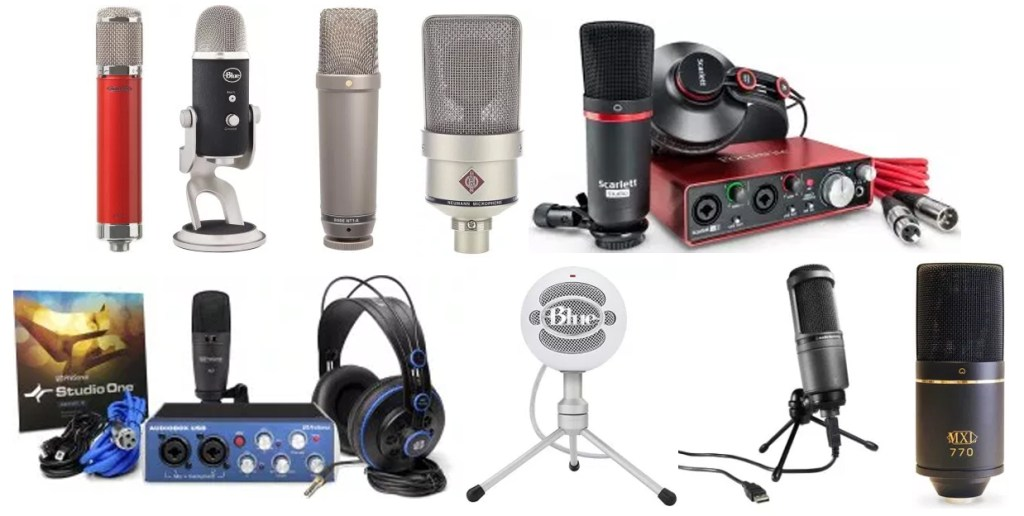 The Top 10 Best Microphones for Recording Voice Overs | Mic