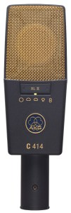 A lovely microphone for recording vocals by AKG