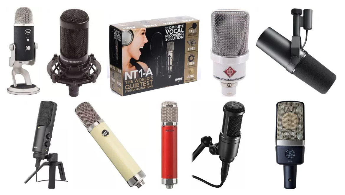 Our guide on the best rap vocal microphones in the market