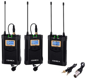 A budget-friendly wireless lavalier system here