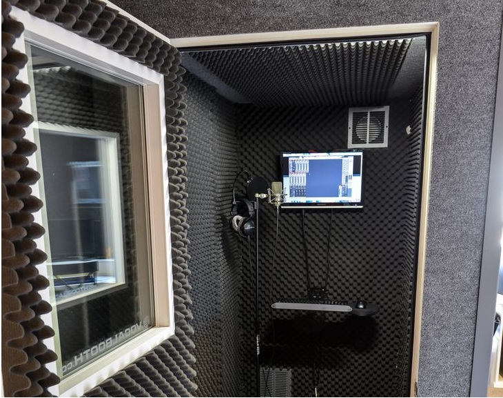 Vocal booths don't have to be intimidating