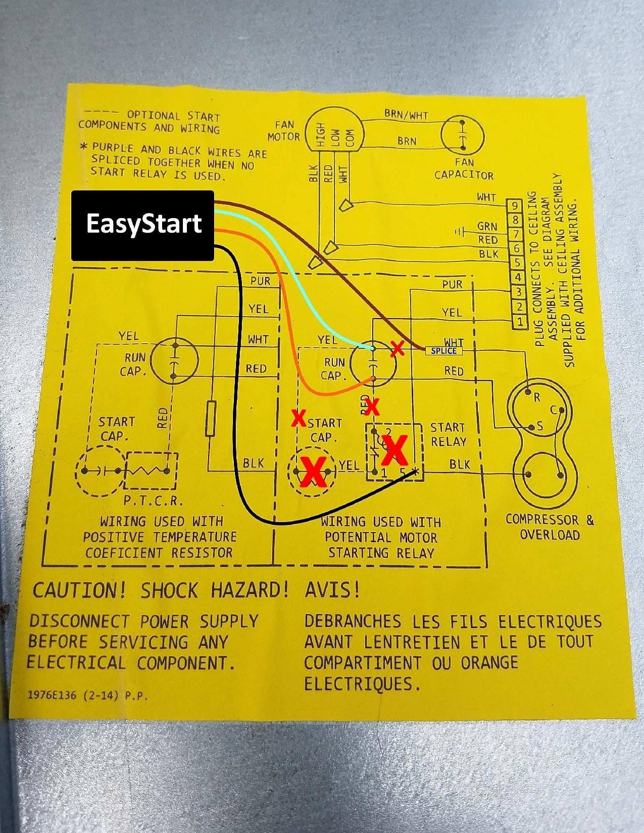 soft starter wiring diagram subaru forester rear suspension rv easystart diagrams resource page micro air coleman mach 1 364