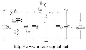 LM78xx Regulated Power Supply | Micro Digital