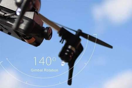 3.0+ gimbal micro drone