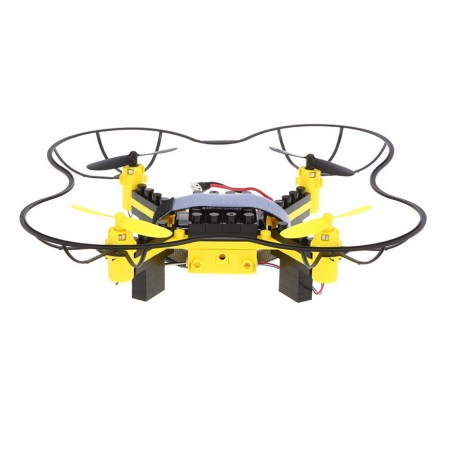 blocks drone yellow frame