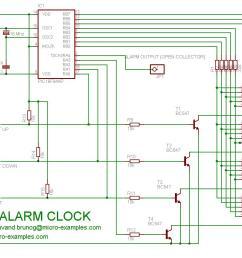 a pic16f84a alarm clock pic16f84a alarm clock schematic [ 1125 x 843 Pixel ]