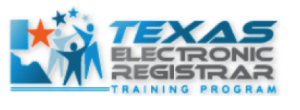 Logo: Texas Electronic Registrar Training Program