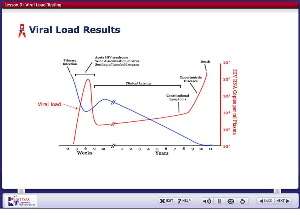Example Viral Load Changes