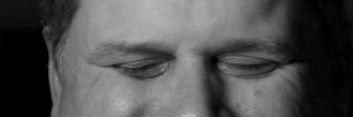 Close up of Tommy Edison's eyes. Tommy Edison is best known as The Blind Film Critic. Photo from Flickr and does not imply endorsement of this article. (CC BY 2.0)