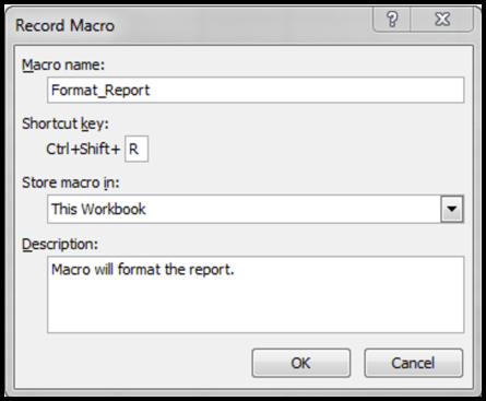 how to create an excel macro microassist software tip