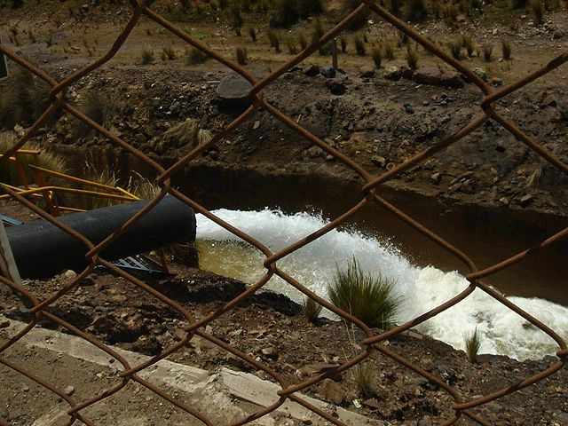 Scarico di acque reflue