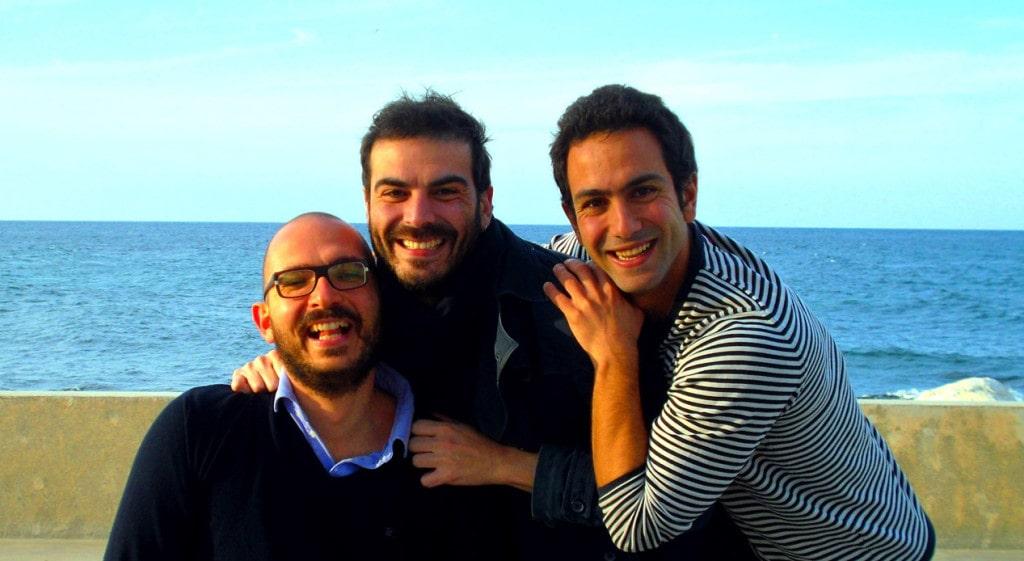 I fondatori della start-up pugliese EggPlant