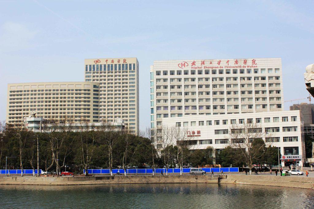 Ospedale di Zhongnan i cui ricercatori hanno messo in evidenza la correlazione tra gruppo sanguigno e severità dei sintomi da COVID 19