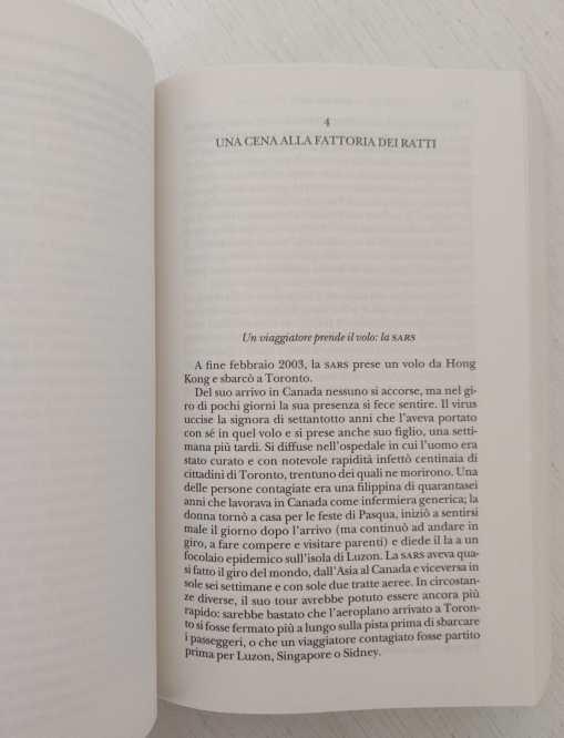 introduzione al capitolo sulla SARS