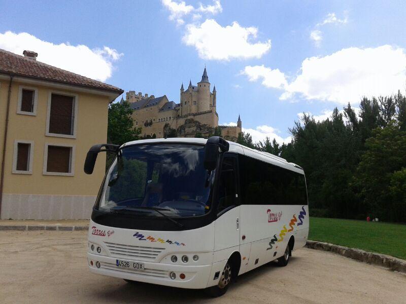 plazas microbus
