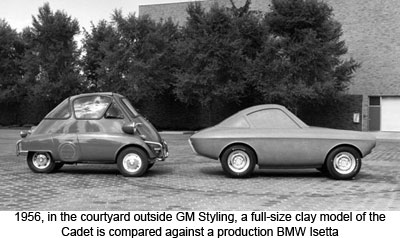 Microcar News Online 187 187 Gm S Answer To The Isetta The Cadet