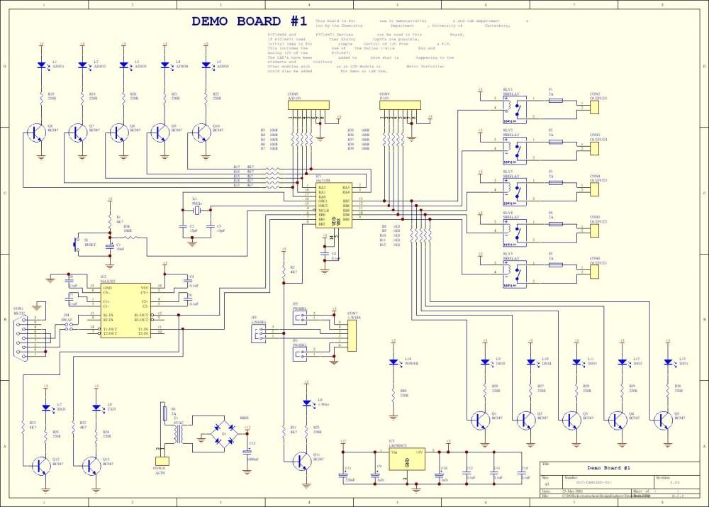 medium resolution of pic demo board submenu